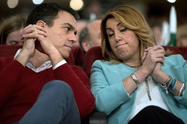 El incendio del PSOE frena la revancha de Sánchez contra Susana