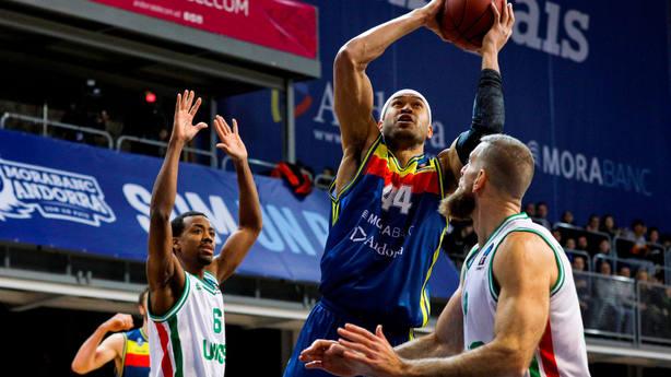 Morabanc Andorra ganó a Unics Kazan. EFE
