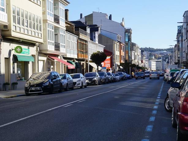Zona de la Avenida de Galicia sobre la que se actuará