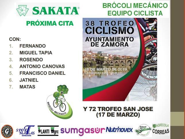 El Brócoli Mecánico viaja a Zamora