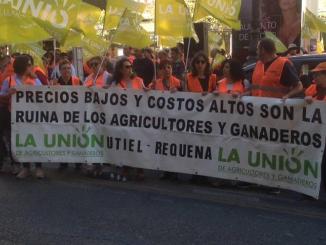 Protesta de la Unió
