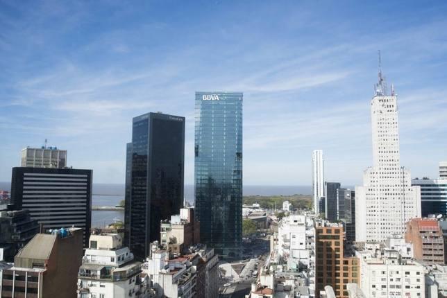 Torre de BBVA Francés en Buenos Aires, Argentina.