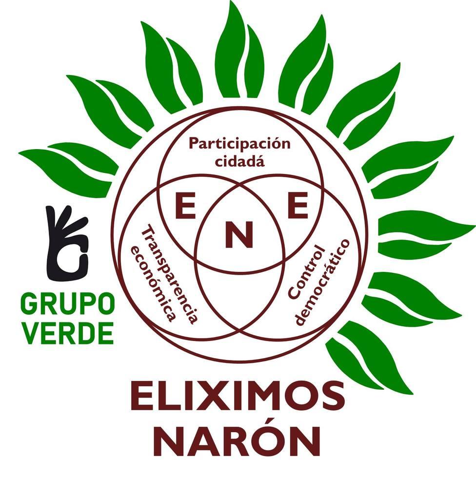 Nuevo anagrama de Eleximos Narón Electores (ENE)