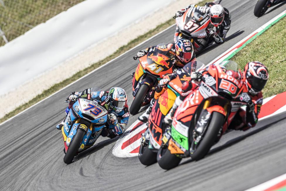 (Previa) Àlex Márquez quiere asaltar el liderato en Moto2 y Canet retener el suyo en Moto3