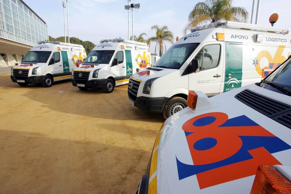 Fallece un motorista tras sufrir un accidente en la carretera A-8128 a su paso por Utrera (Sevilla)
