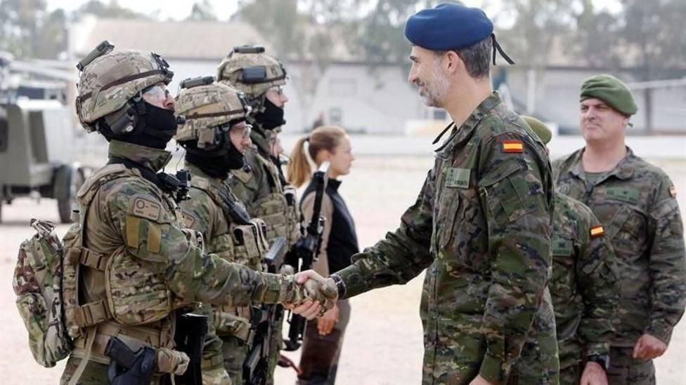 Así es la jerarquía militar en España
