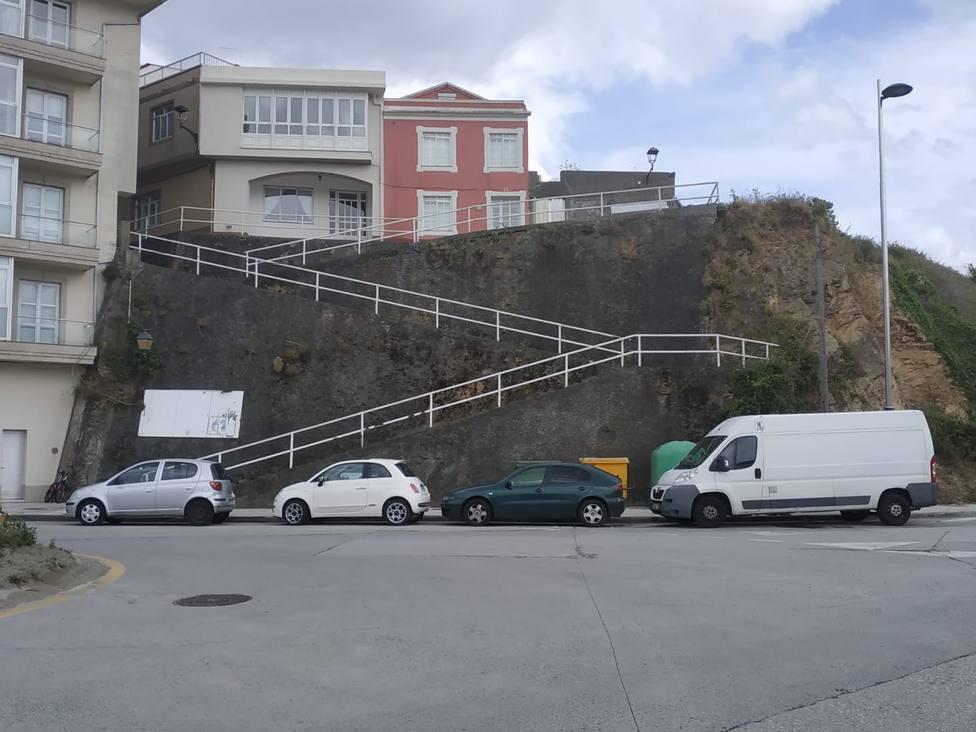 Rampa O Castro, en Cariño - FOTO: Concello de Cariño