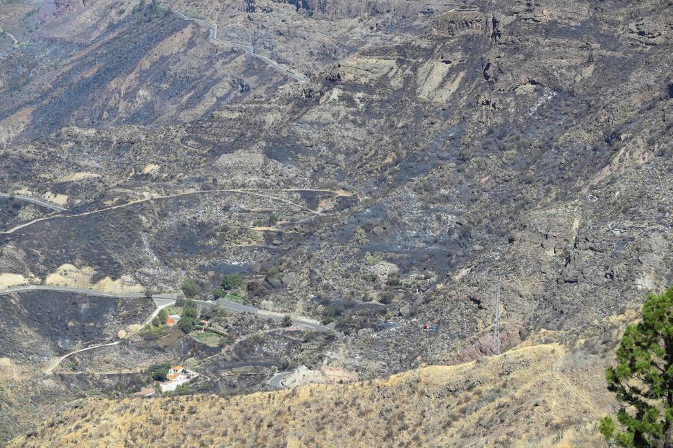 Envían a prisión al presunto autor del incendio de Gran Canaria