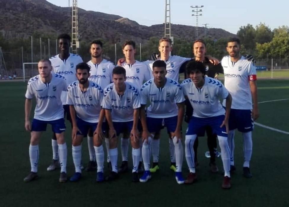 El Lorca FC gana 4-1 ante el filial blanquiazul de Toro Aquino