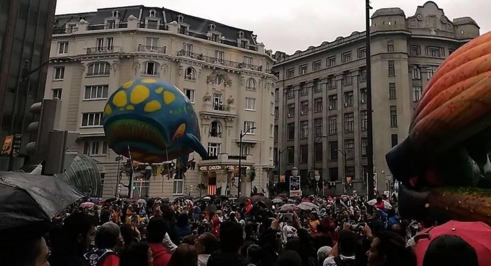Desfile de la ballena en Bilbao