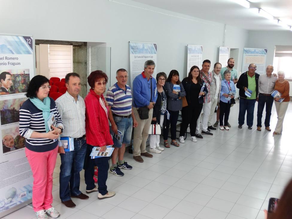 La Casa da Cultura de Villalba presenta el proyecto Os nove anos de Fraguas en Lugo