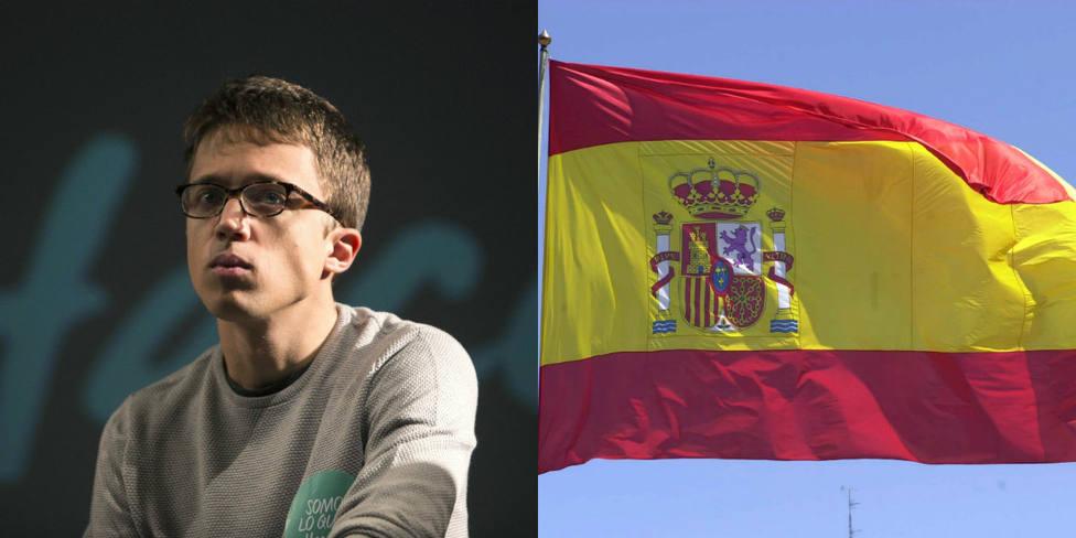 El día que Errejón humilló a la bandera de España en el programa de Pablo Iglesias