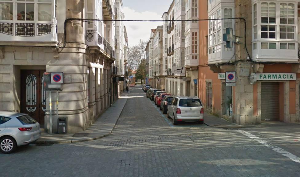 Uno de los tramos de la calle Tierra que se cortará al tráfico