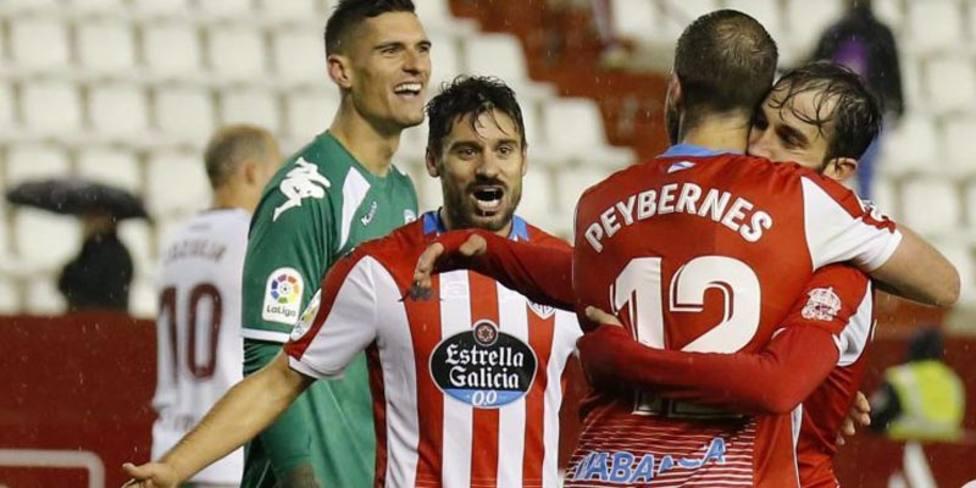 Un golazo de Álex López da la victoria al Lugo en Albacete