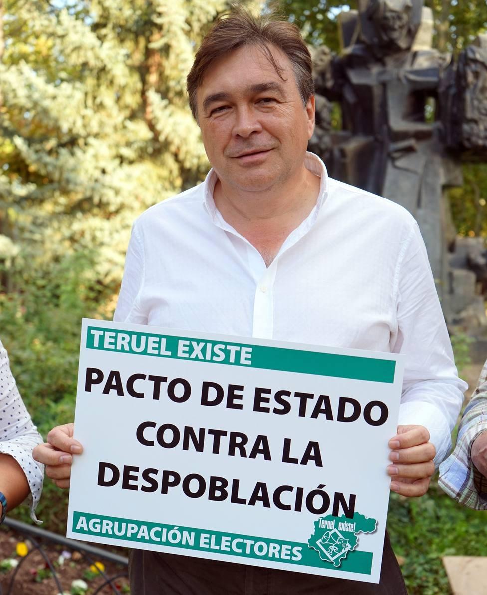 Guitarte (Teruel Existe), muy contento por el resultado inicial, garantiza que apoyará la gobernabilidad