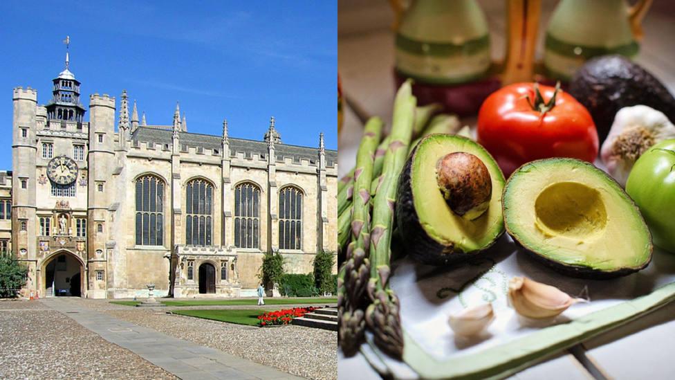 Cambridge cede ante los estudiantes vegetarianos y termina con un cuadro del s. XVII: Es un poco repulsivo