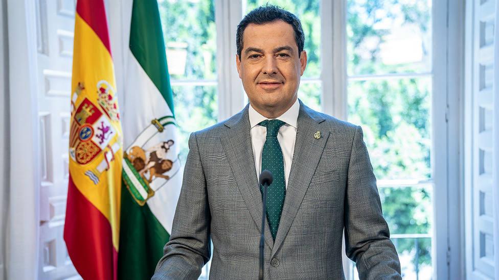 Juan Manuel Moreno Bonilla, presidente de la Junta de Andalukcía