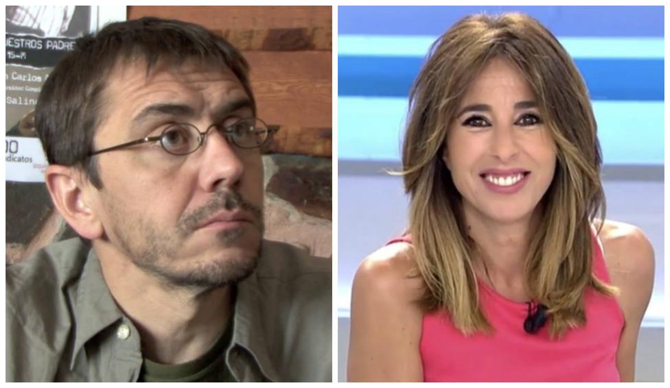 """Monedero sonrojado tras develar una periodista de Telecinco por qué se llama Juan Carlos: """"Es maravilloso"""""""
