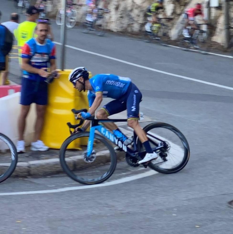 Alejandro Valverde y Luis León Sánchez acaban con los mejores en Niza