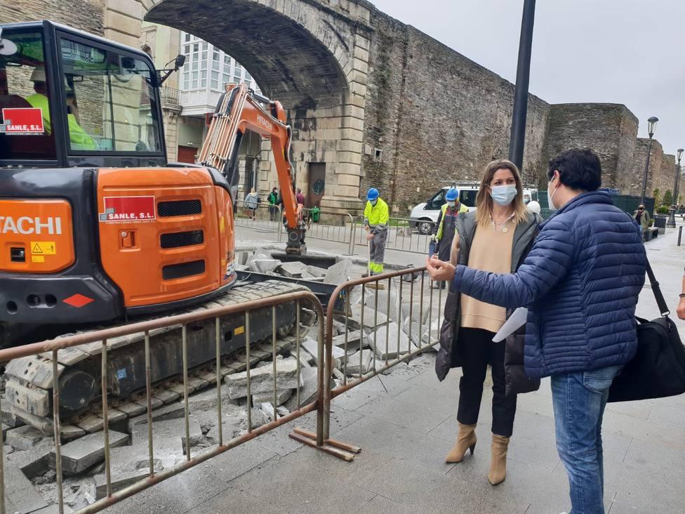Lugo moderniza el control de acceso a su casco histórico