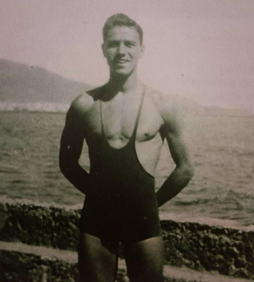 El exnadador español Manuel Guerra, olímpico en 1948