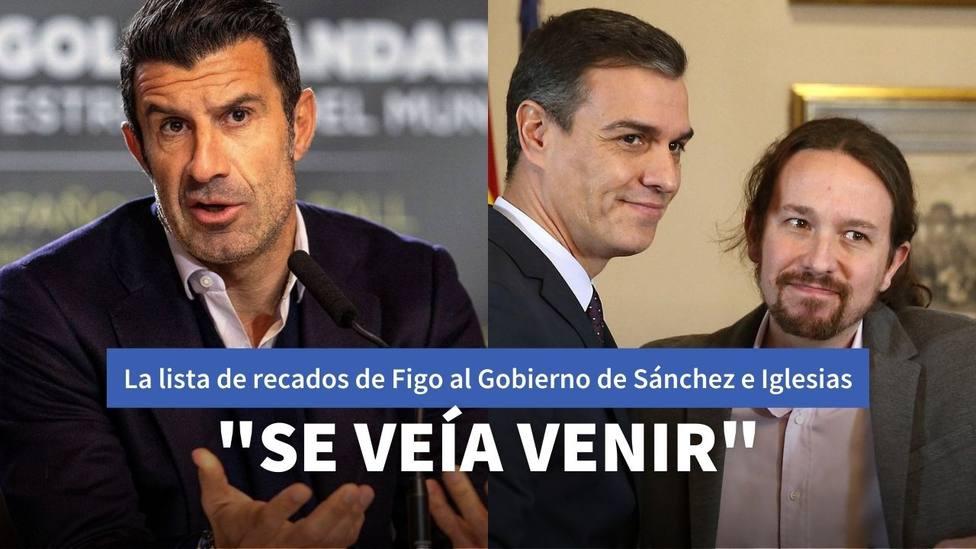 Luís Figo y el Gobierno de España