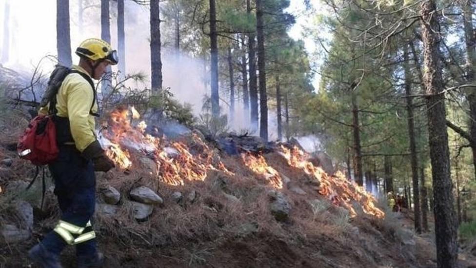 Alerta incendio forestal