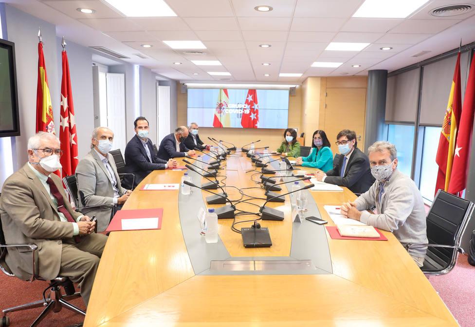 Gobierno y Madrid se reunirán mañana por primera vez bajo el estado de alarma en el grupo Covid-19