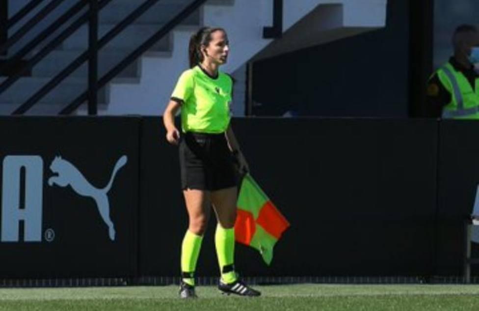 Miriam Morales, asistente del Atlético de Madrid - Logroño