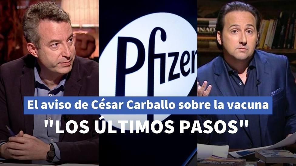 El aviso del doctor César Carballo a Iker Jiménez sobre la letra pequeña de la vacuna de Pfizer