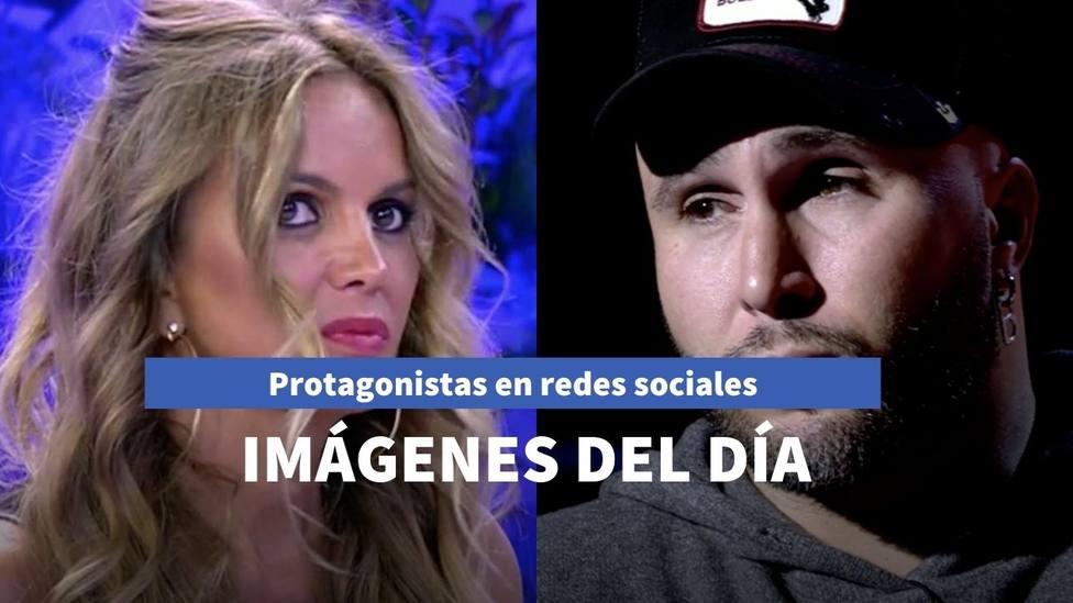 Imágenes del día: el nuevo entretenimiento de Kiko Rivera y la vuelta de Marta López a 'Sálvame'