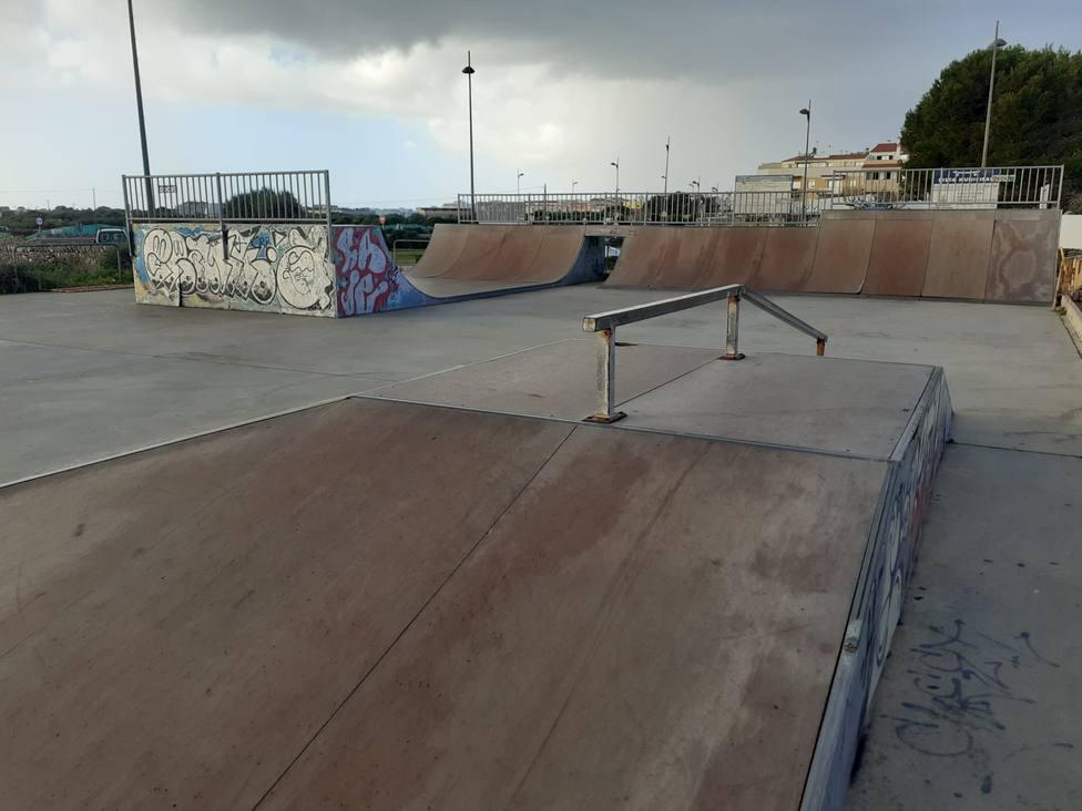 Inversión de 39.500 € para reformar y rehabilitar el Skateparc de Ciutadella