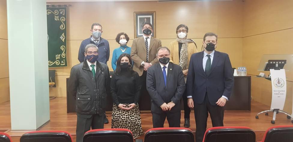 El Colegio de Graduados Sociales de Jaén y Caja Rural acuerdan un convenio de colaboración