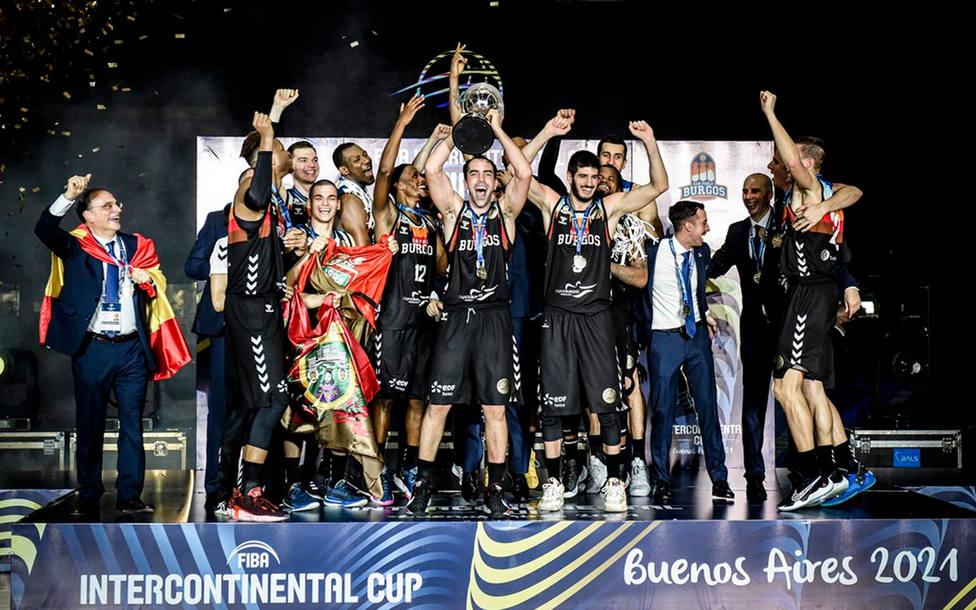 El San Pablo Burgos, campeón de la Intercontinental (EFE)