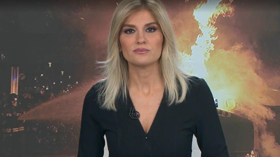 Sandra Golpe, obligada a pedir perdón por un error con las protestas por Hasél: Somos humanos
