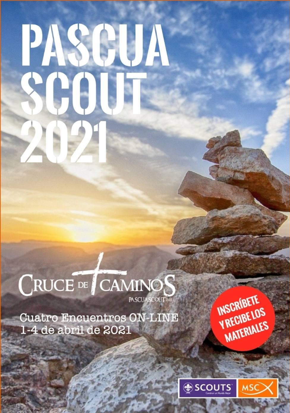 La Pascua Scout en Yuste