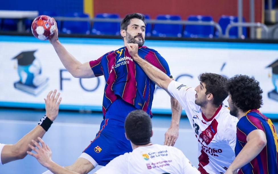 El Barça inicia ante el Logroño la carrera por su octava Copa consecutiva