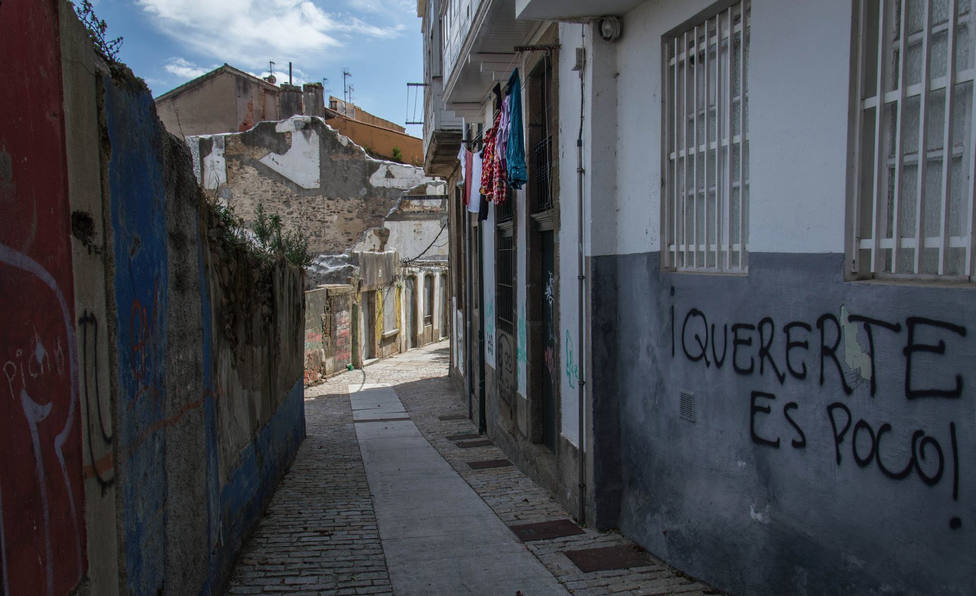 Foto de archivo de una zona de Ferrol Vello - FOTO: Montse Funcasta