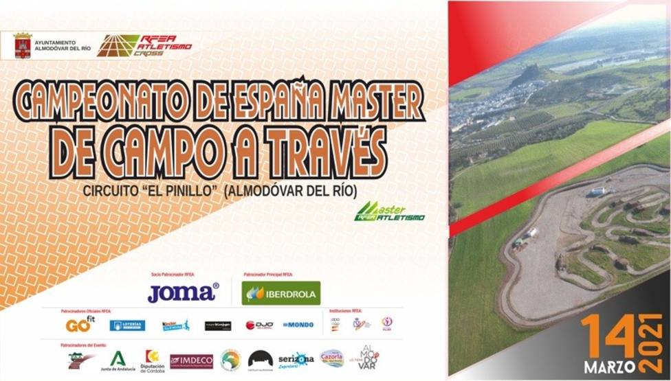 Puertas Lorca y CA Nogalte, protagonistas del Campeonato España Máster de Campo a través.