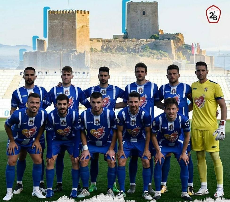 Marino de Canarias, Marbella, Recreativo Huelva y el filial de Las Palmas, rivales del CF Lorca Deportiva.