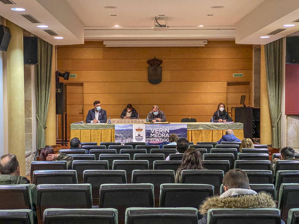 Pleno celebrado recientemente en la Casa de la Cultura de Verín