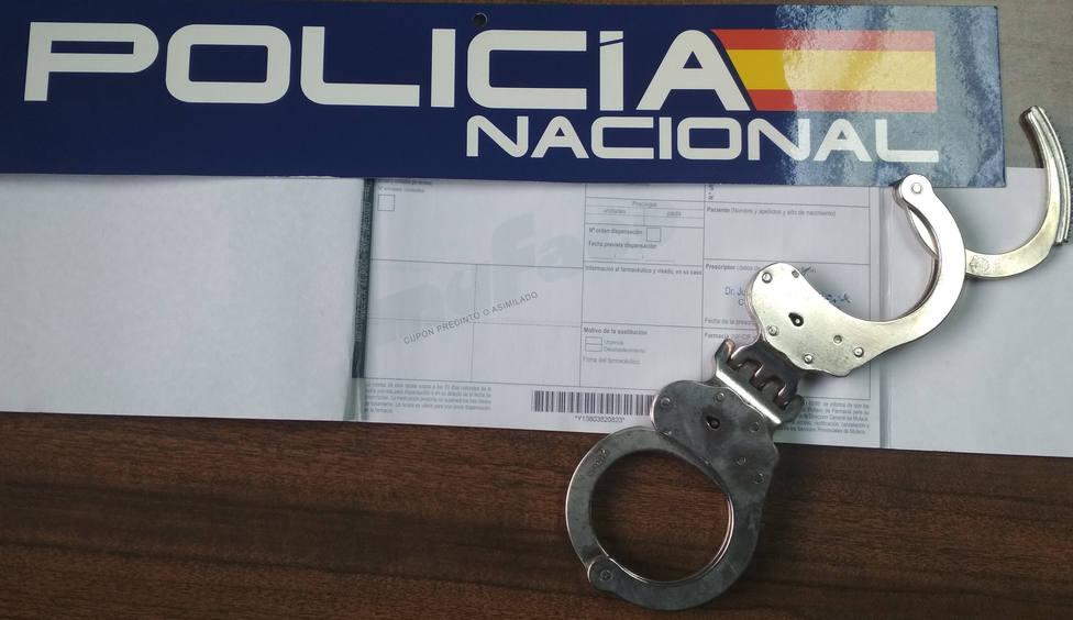 Detenida en Almería por falsificar recetas médicas para traficar con ansiolíticos