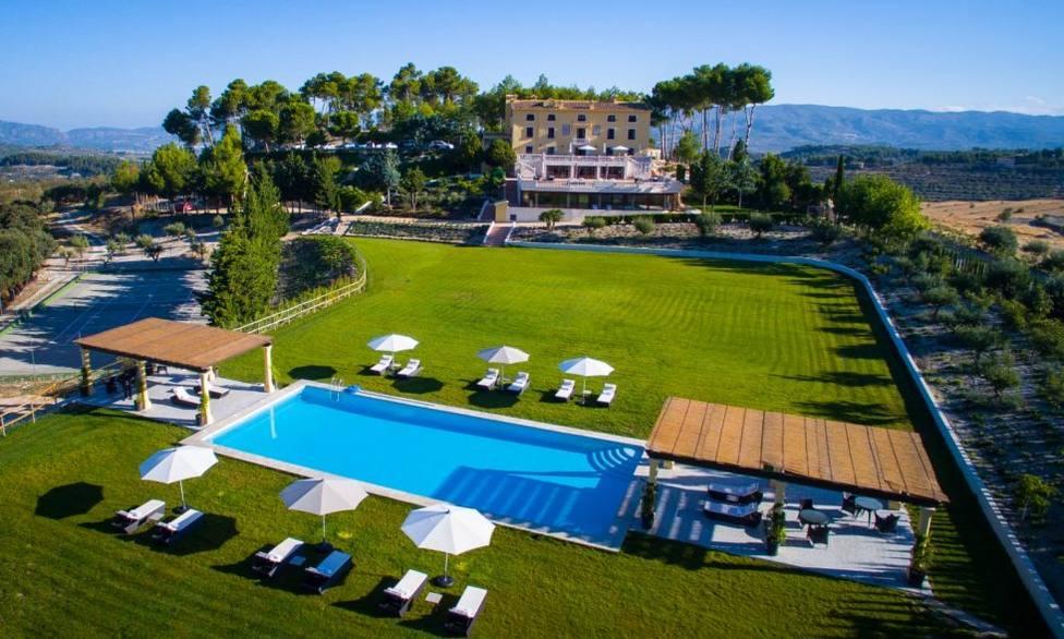 Hotel La Escondida, en Penáguila (Alicante)