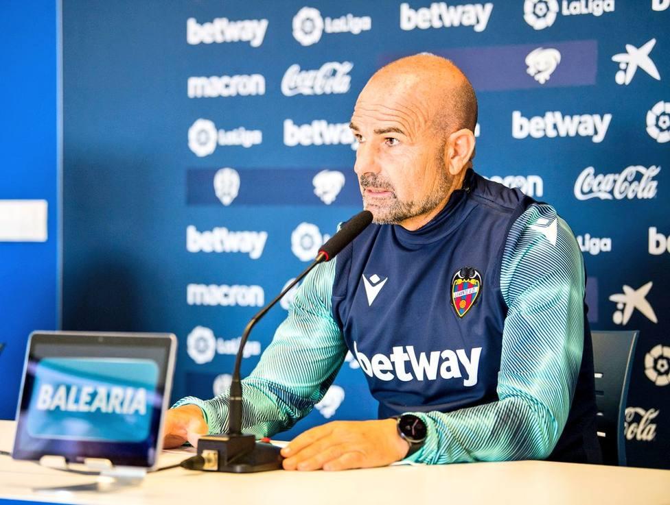 Paco López ha analizado el partido del domingo ante el Villarreal CF