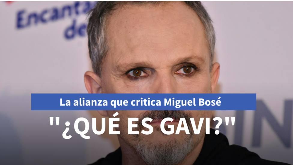 ¿Qué es GAVI? La alianza que critica Miguel Bosé