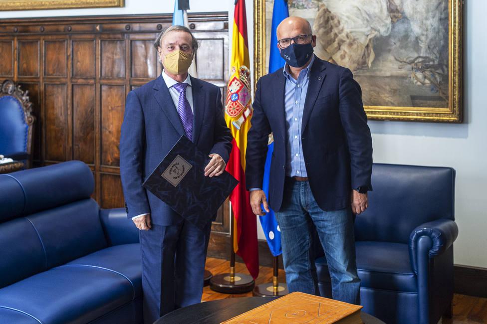 Eduardo López Pereira y Manuel Baltar