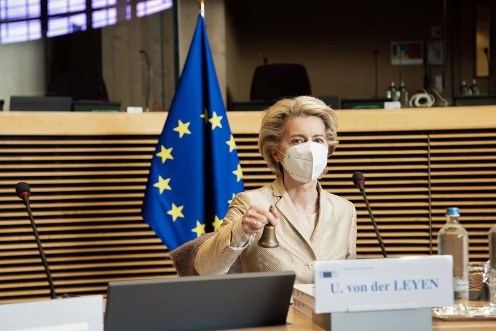 Von der Leyen manifiesta la solidaridad de la UE con España por la crisis de Ceuta