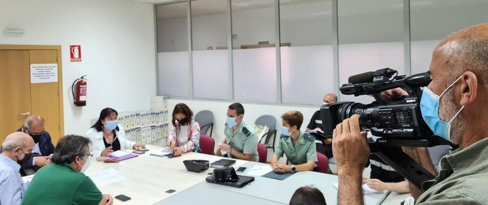 Comité de Dirección del Plan Infoex celebrado hoy en el Centro Operativo Contra Incendios en Cáceres
