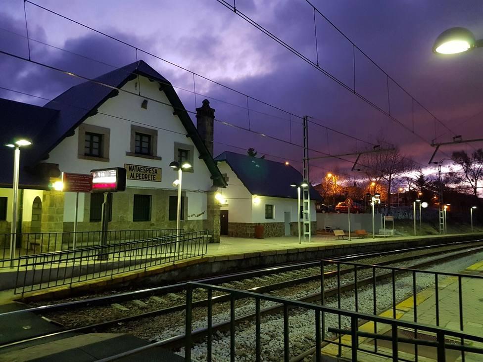 Estación de tren de Mataespesa Alpedrete
