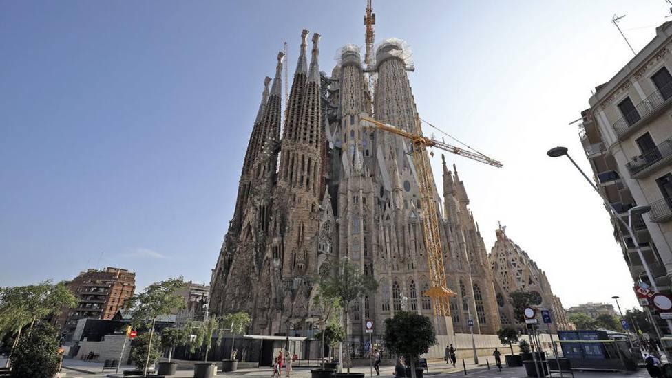 La Sagrada Familia encara la finalización de la Torre de la Virgen, prevista para diciembre de este año